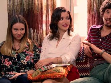 Luisita y Amelia, reticentes a que Fede se instale con ellas