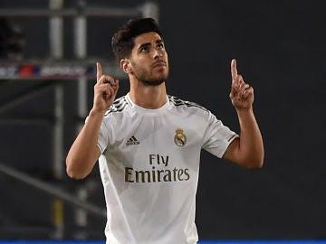 Marco Asensio regresa con gol ante el Valencia