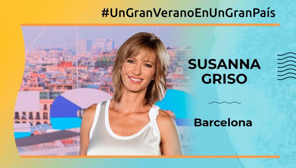 Susanna Griso, gran país (Barcelona)