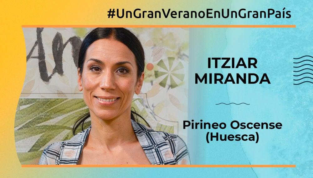 """Itiziar Miranda: """"El Pirineo Oscense es un lugar mágico, de cuento, para pasar unas perfectas vacaciones'"""