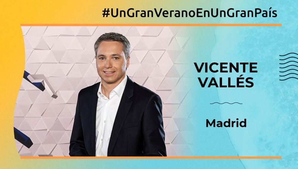 Vicente Vallés, gran país (Madrid)