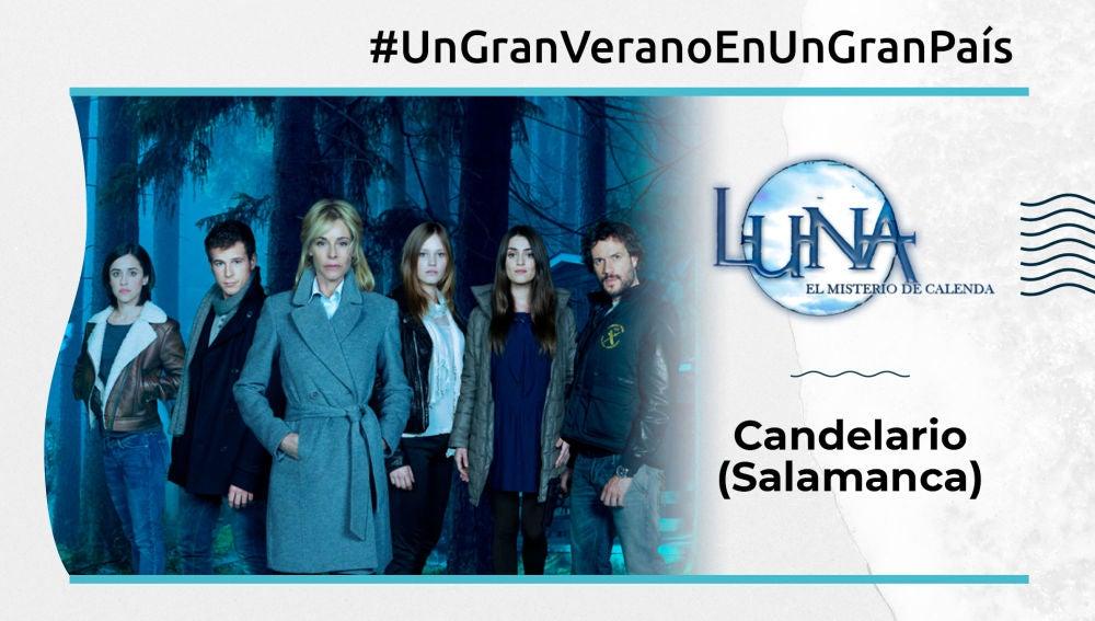 Varios enclaves de Castilla y León sirvieron de escenario para el rodaje de 'Luna, el misterio de Calenda'