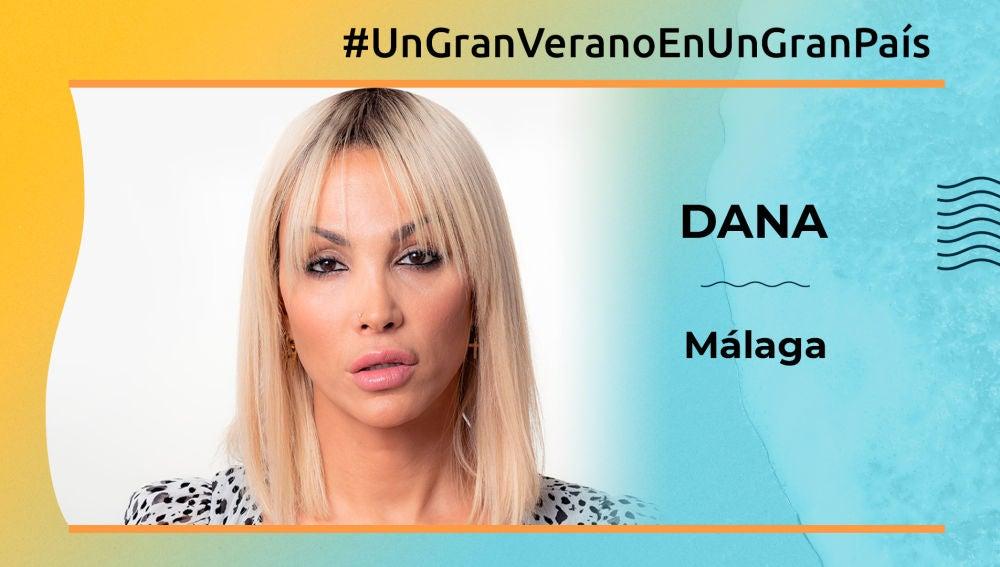 """Daniela Santiago: """"Málaga tiene unos rincones de infarto"""""""