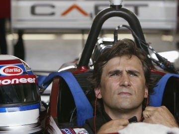 Alessandro Zanardi, durante su etapa en la Fórmula 1