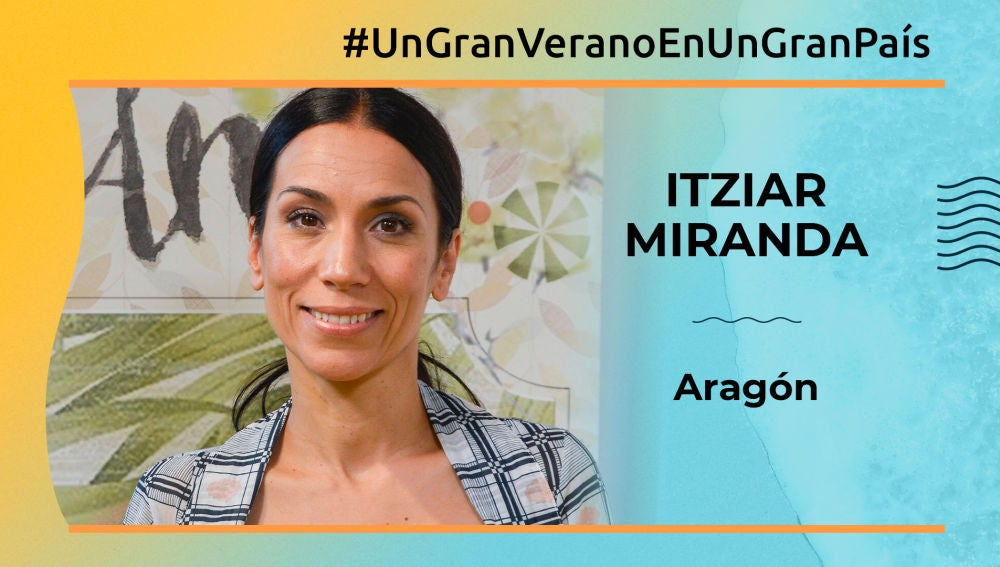"""Itziar Miranda: """"Aragón está llena de lugares increíbles"""""""