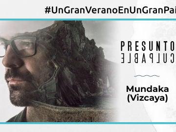 El paisaje de la costa de Vizcaya, un protagonista más en 'Presunto culpable'