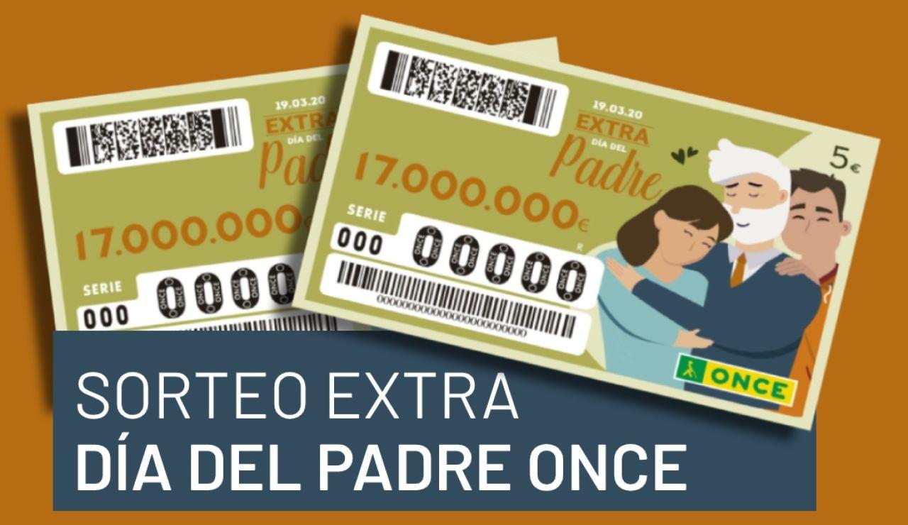Sorteo Extra del Día del Padre ONCE 2020: Cuándo se celebra y premios del sorteo del Día del Padre