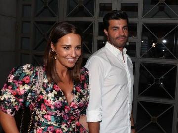 Paula Echevarría y Miguel Torres salen a cenar con unos amigos