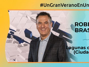 """Roberto Brasero: """"En las Lagunas de Ruidera (Ciudad Real) cuando ha llovido es un espectáculo"""""""