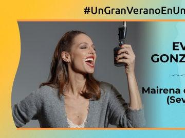 """Eva González: """"Mairena del Alcor en un sitio maravilloso para disfrutar de una barbacoa con amigos"""""""