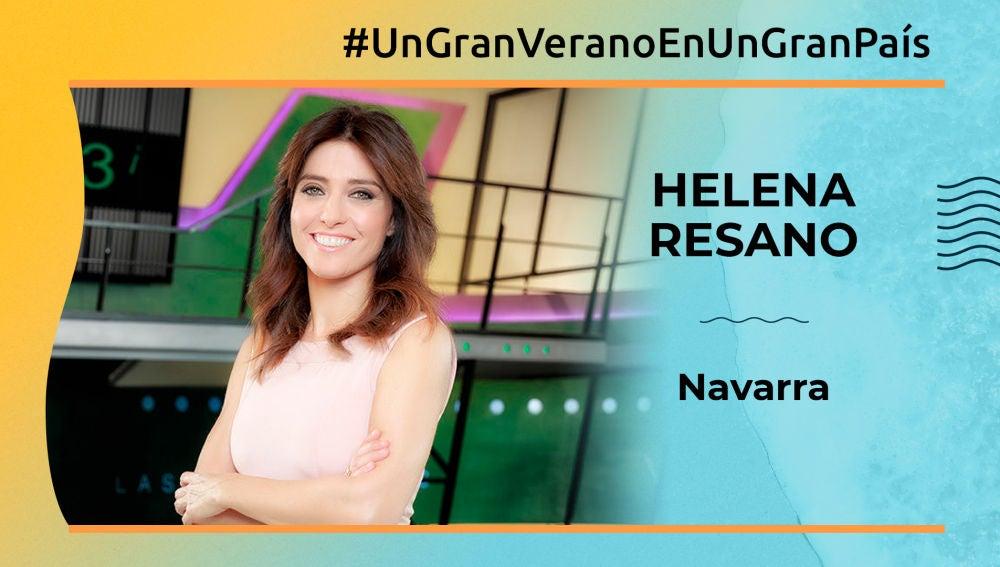 """Helena Resano: """"En Navarra hay lugares maravillosos donde perderse"""""""