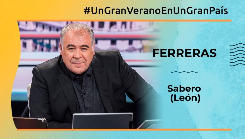 """Antonio García Ferreras: """"Sabero (León) tiene un temperatura ideal para pasar el verano"""""""