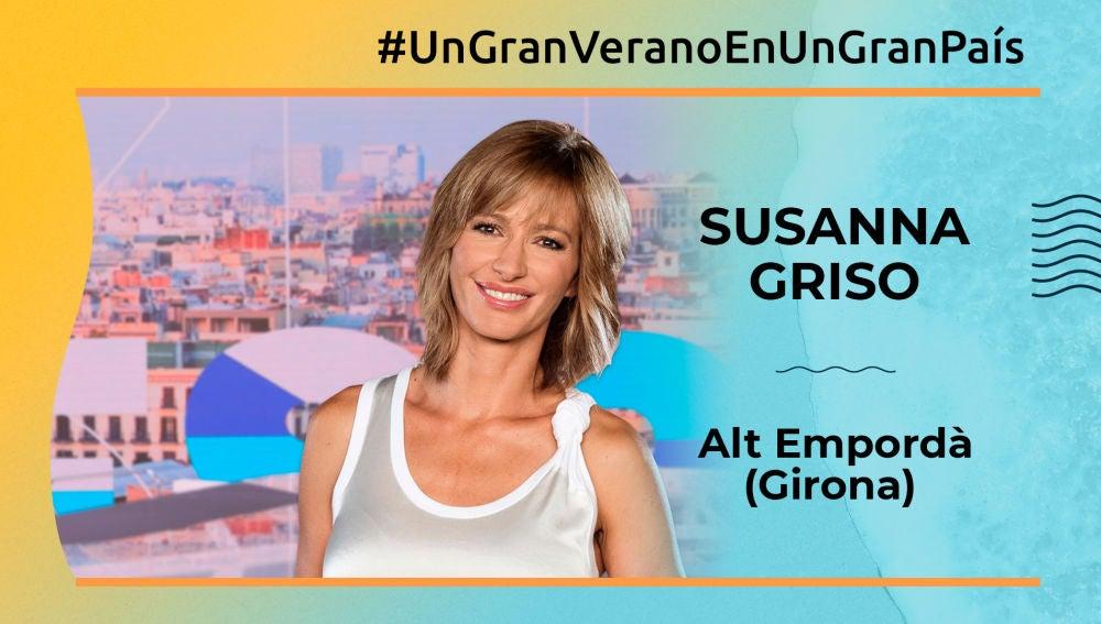 Susanna Griso, gran país (Empordá)