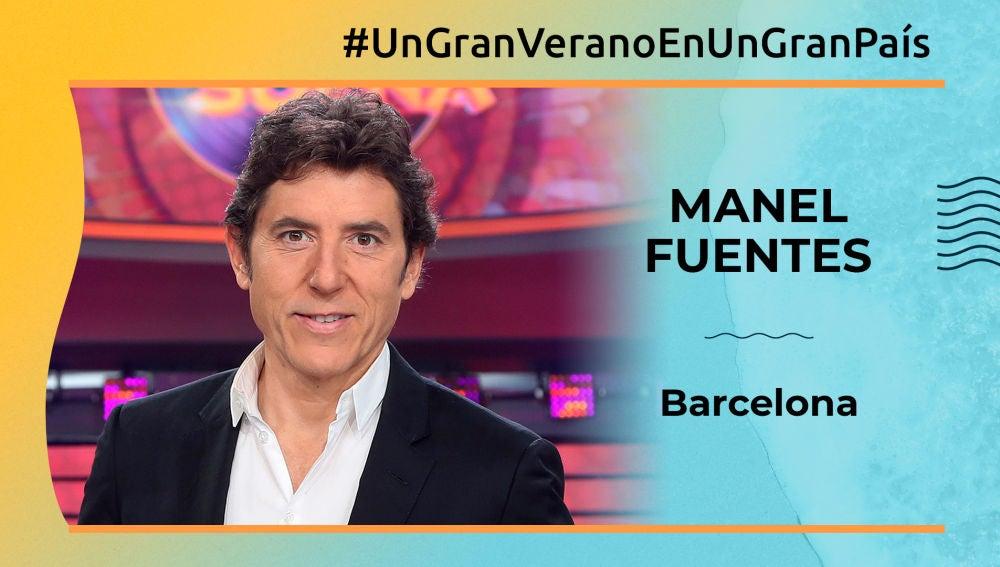 """Manel Fuentes: """"Las playas de Barcelona son fantásticas"""""""