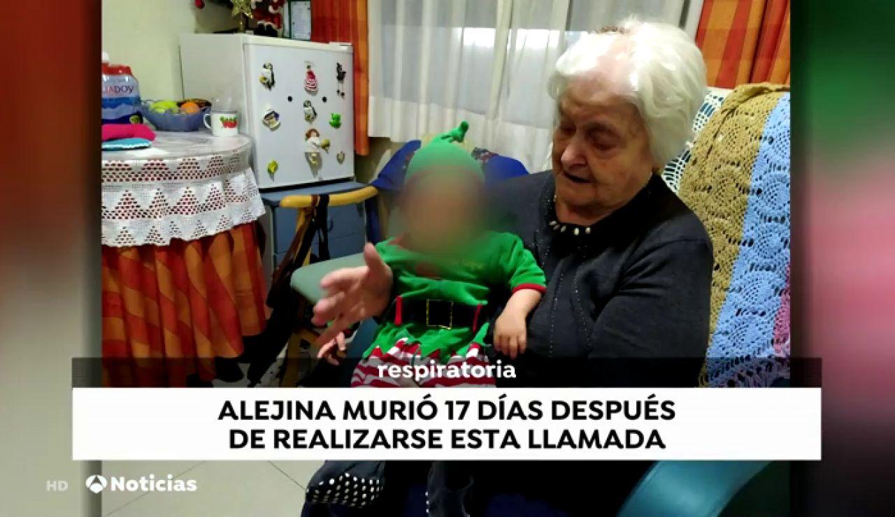 """El audio que desvela el drama vivido en las residencias con la confesión de una médica a la hija de una enferma: """"No me dejan derivarla"""""""