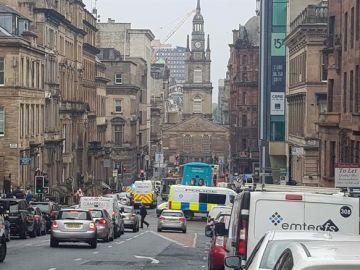 Apuñalamiento en Glasgow