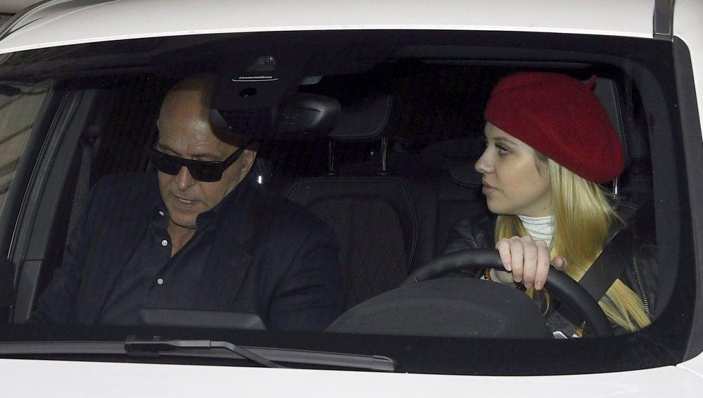 Anita Matamoros y su padre Kiko Matamoros