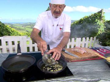 El secreto de Karlos Arguiñano para que las almejas se abran bien