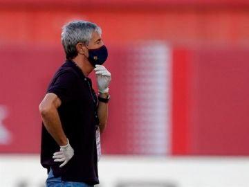 """Quique Setién, sobre la marcha de Arthur a la Juventus: """"Lo que está pasando es anormal"""""""