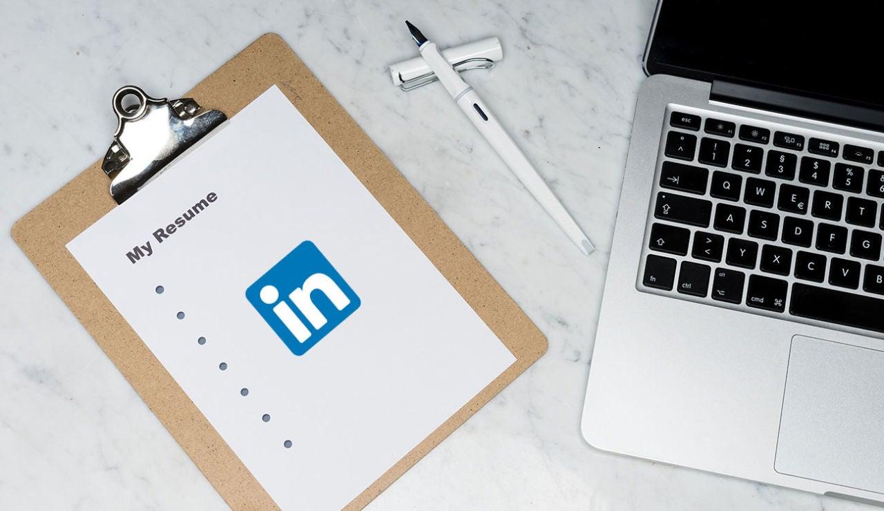 Currículum con LinkedIn