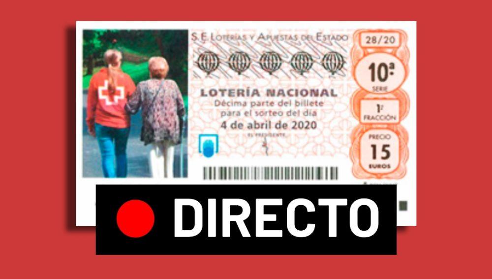 Sorteo Extraordinario de Cruz Roja 2020 de la Lotería Nacional,