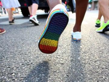 Imagen de una marcha del Día del Orgullo