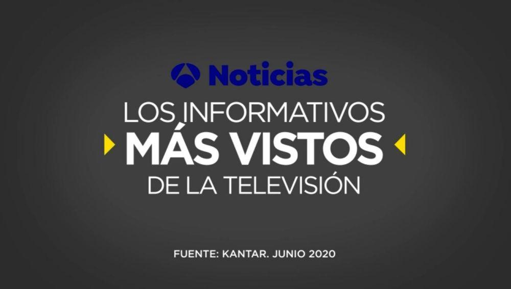 Antena 3 Noticias, los informativos más vistos