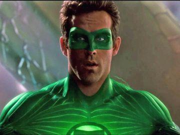 Ryan Reynolds en 'Linterna Verde'