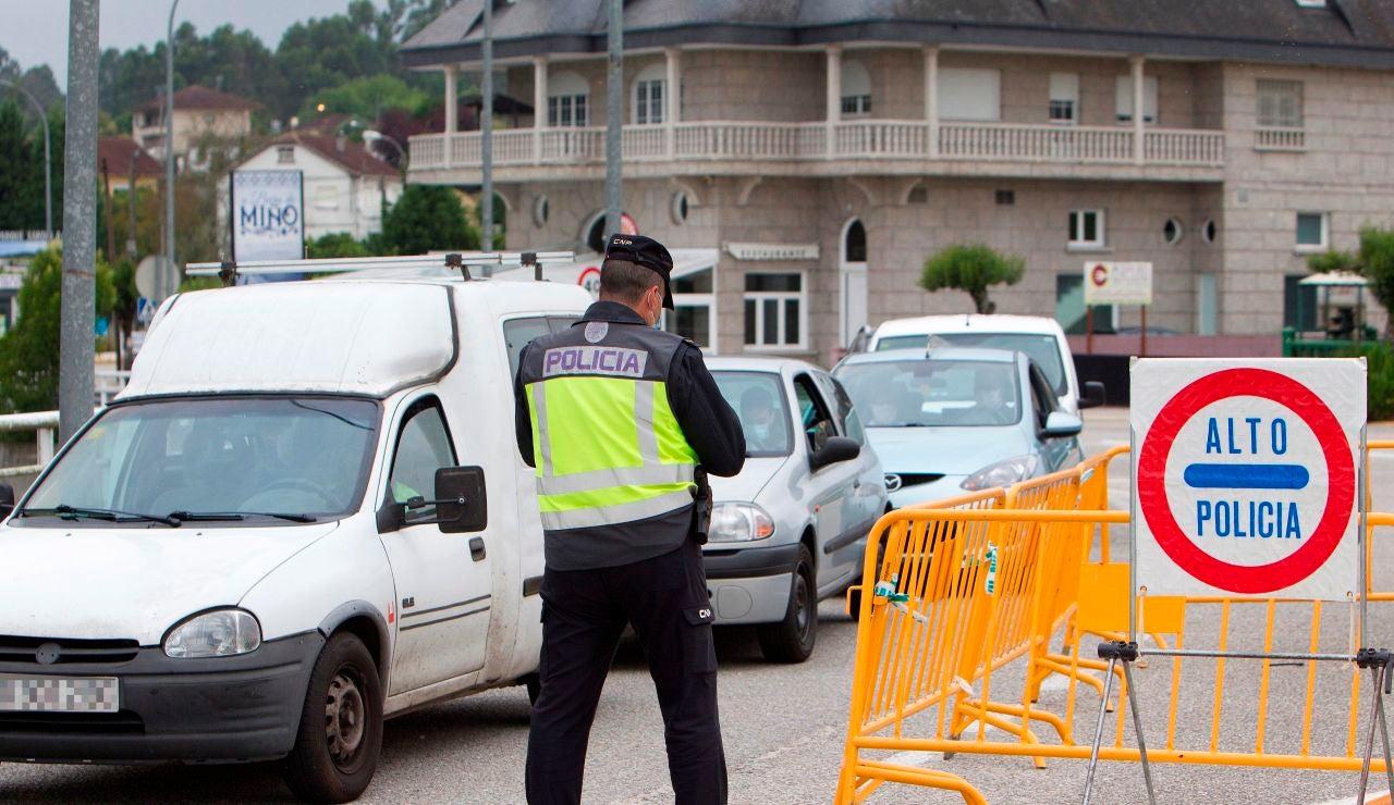 España prorroga los controles en la frontera con Portugal hasta el 1 de mayo
