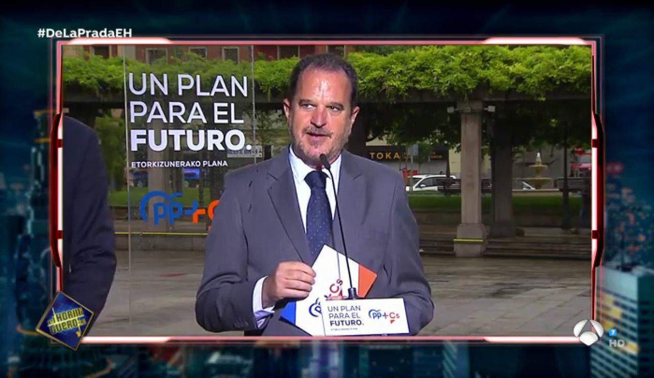El llamativo lapsus de Carlos Iturgaiz que Pablo Motos se quiere poner como politono