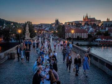 Banquete en Praga