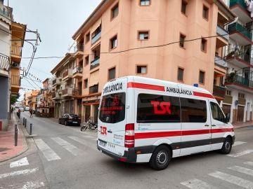 Aspecto de la calle Valencia en Sant Feliu de Guíxols
