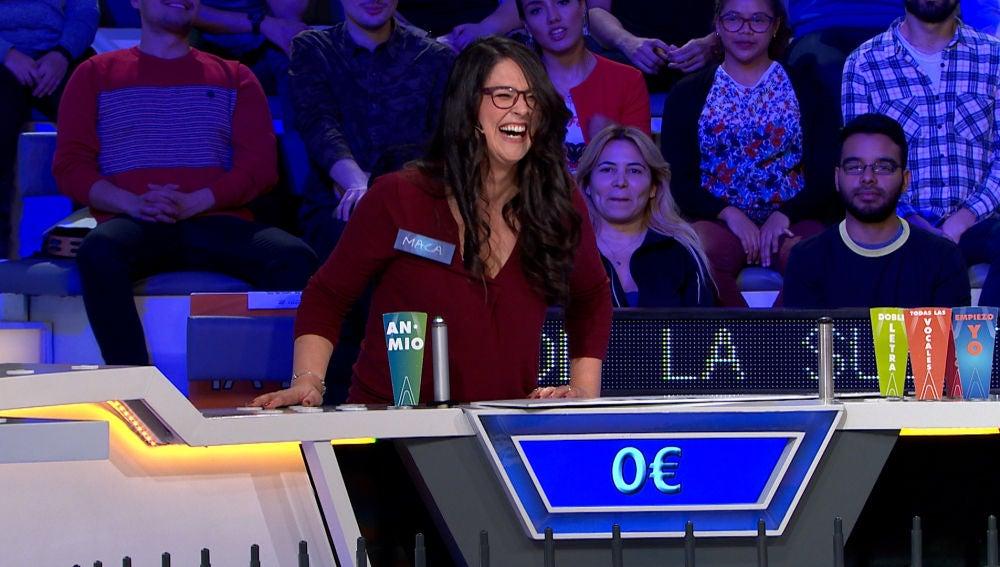 ¡Cero supersticiones! El truco de una concursante de 'La ruleta de la suerte' para tener un buen día