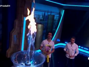 Agua ardiente, el espectacular efecto con el que Marron sorprende a Ágatha Ruiz de la Prada