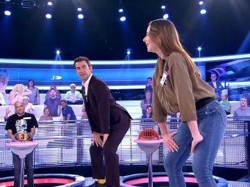Arturo Valls y Palmira reciben una clase magistral de twerking en '¡Ahora caigo!'