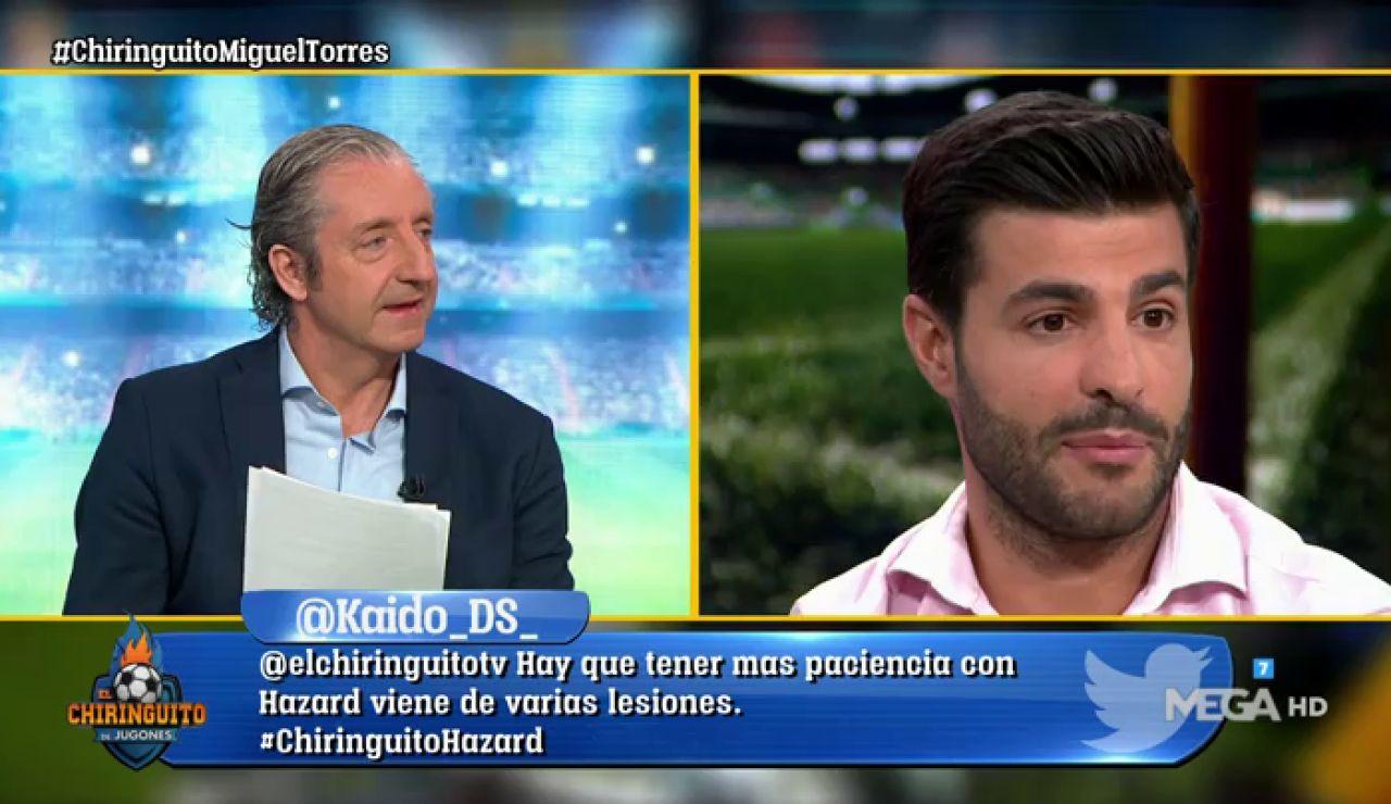 MIGUEL TORRES, ex futbolista y futuro entrenador, en El Chiringuito