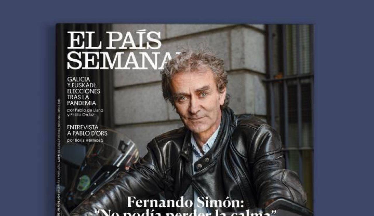 Fernando Simón en la portada de 'El País Semanal'