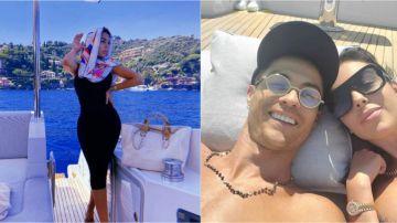 Georgina Rodríguez, en sus vacaciones con Cristiano