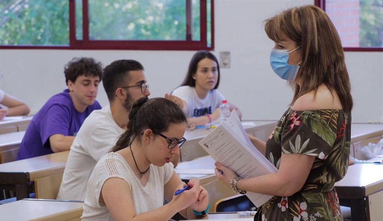 Horarios de los exámenes de la EBAU 2020