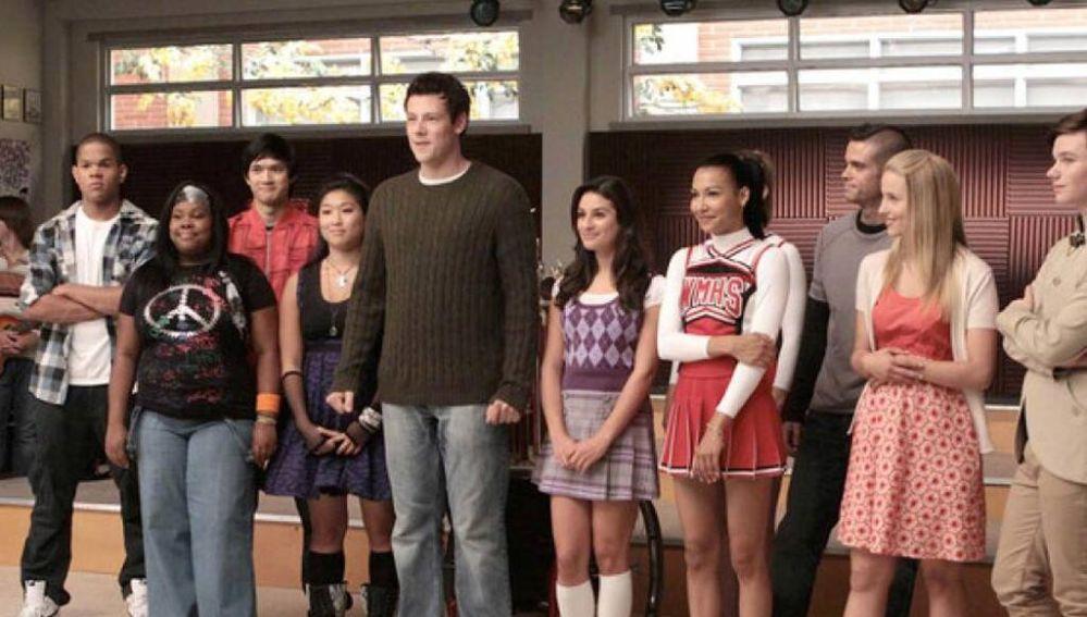 Los protagonistas de 'Glee'