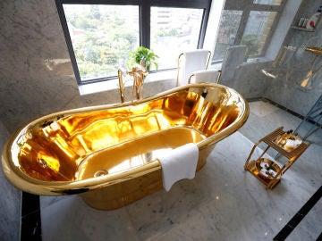 Un hotel en Vietnam se baña de oro para atraer turistas por el coronavirus