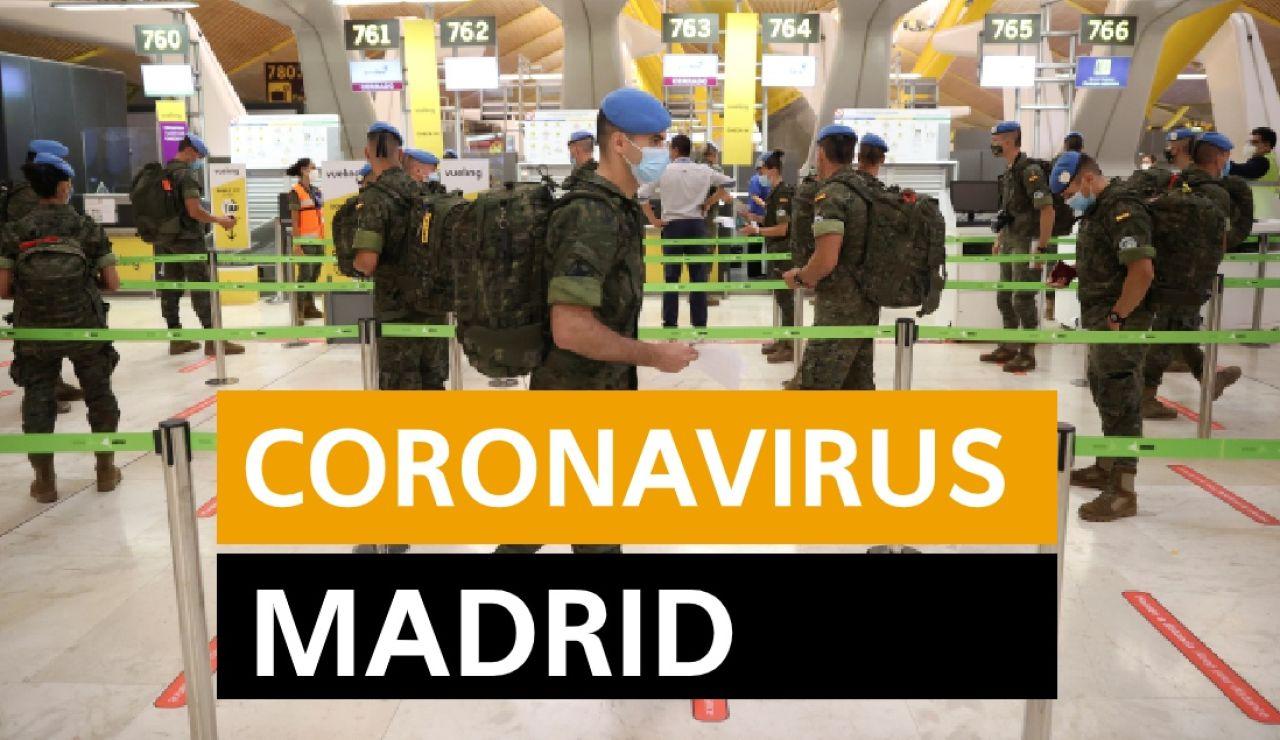 Coronavirus Madrid: Rebrotes, datos y noticias hoy viernes 3 de julio, en directo | Última hora Madrid