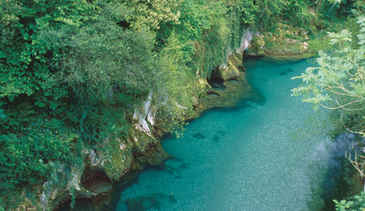Fotografía del río Cares
