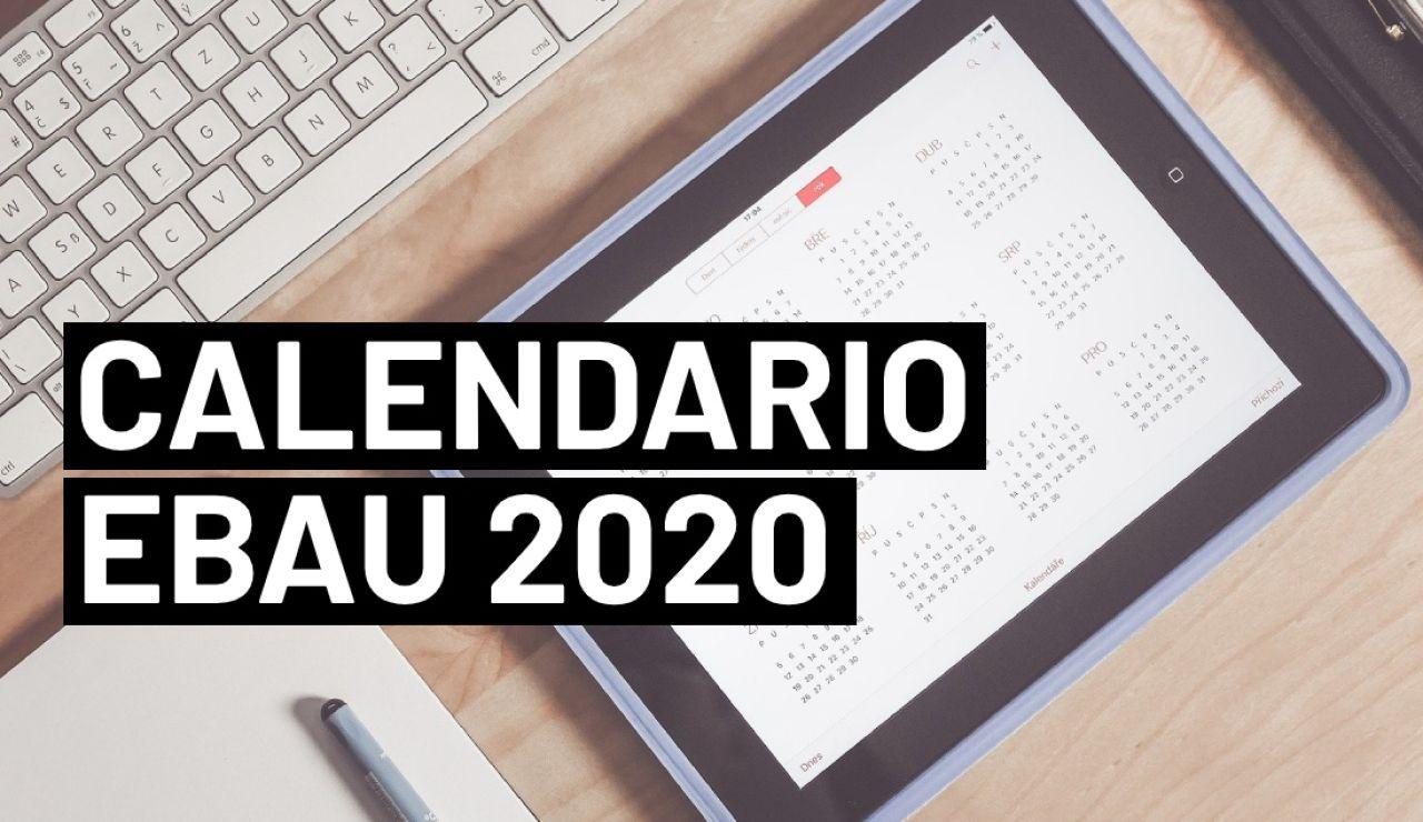 Calendario Selectividad 2020: Fechas de los exámenes de la EBAU por provincias