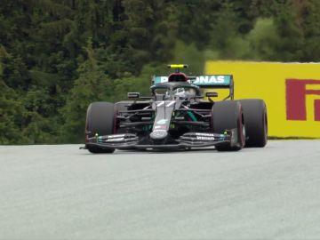 Valtteri Bottas, a bordo del Mercedes