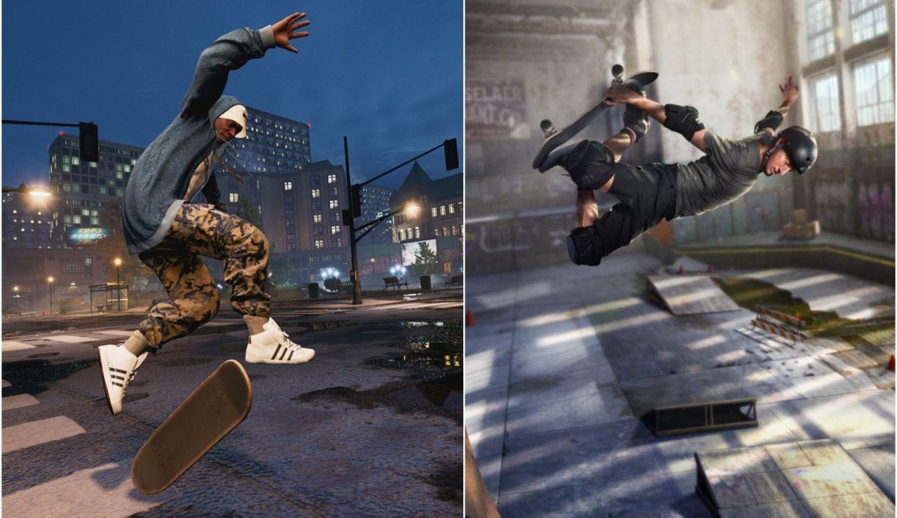 Top 5 de los mejores videojuegos de deporte: Tony Hawk's Pro Skater Saga