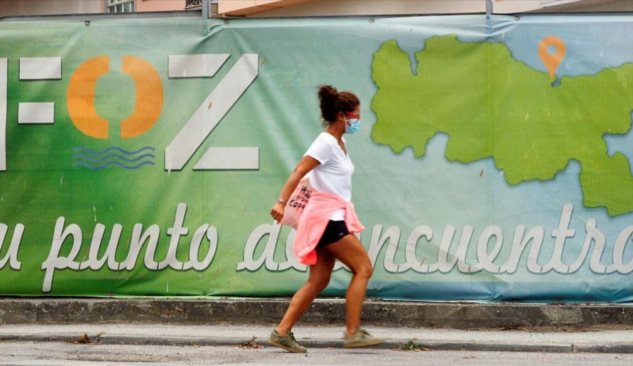 Aumentan en 23 los casos positivos en un día en A Mariña, en Lugo