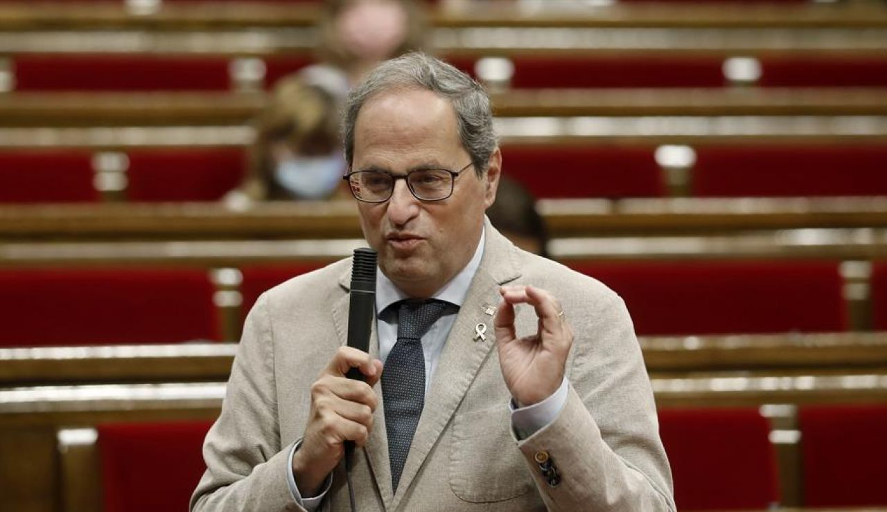 Quim Torra culpa a Madrid del rebrote de coronavirus en Lleida