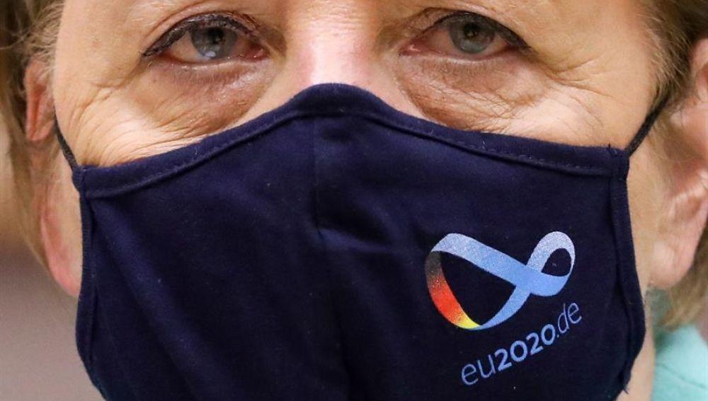 Merkel reparto de fondos reconstrucción