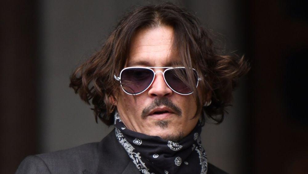 Johnny Depp acude a declarar